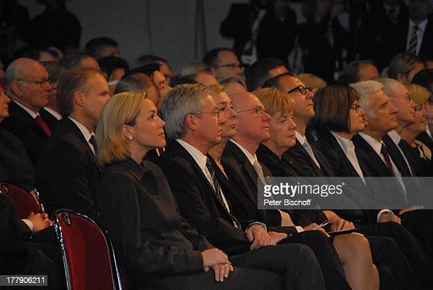 "Bettina Wulff , Jens Böhrnsen mit Lebensgefährtin Birgit Rüst, Norbert Lammert , Dr. Angela Merkel , Andreas Voßkuhle , Jubiläumsfeier ""20 Jahre..."