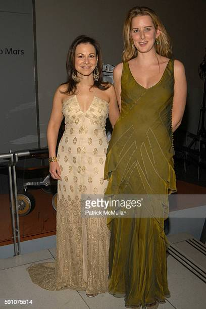 Bettina Zilkha and Jacqueline Sackler attend The American Museum of Natural History hosts it's Annual Winter Dance to celebrate Heavenly Bodies of...