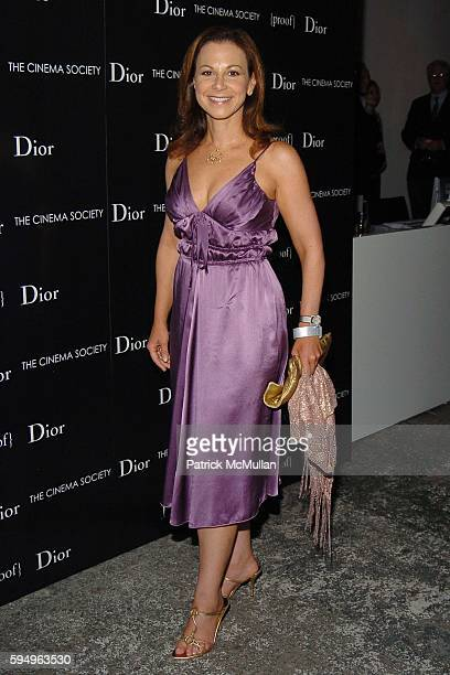 Bettina Zilkha attends DIOR THE CINEMA SOCIETY present a screening of Hart Sharp Entertainment Miramax Films' Proof at 165 Charles St on September 14...
