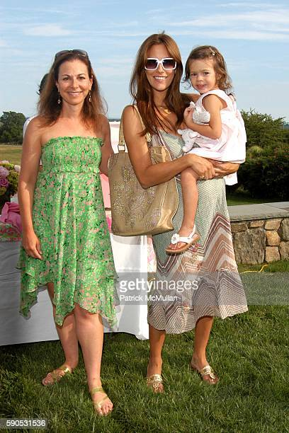 Bettina Zilkha Cristina Greeven Cuomo and Bella Cuomo attend A Mother and Daughter Afternoon Tea to Celebrate the Introduction of Barbie doll by...