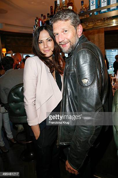 Bettina Zimmermann and Kai Wiesinger attend the Schoeller Von Rehlingen Celebrates 15 Year Anniversary on June 03 2014 in Berlin Germany