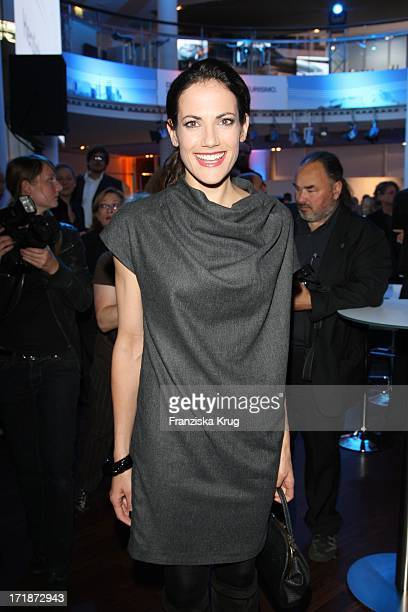 Bettina Zimmermann at the Premiere Of Germany BMW 5 Series Gran Turismo in Berlin
