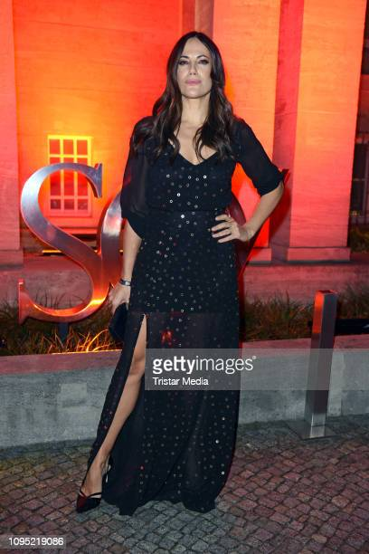 Bettina Zimmermann attends the Berlin Opening Night by GALA UFA Fiction during 69th Berlinale International Film Festival at Hotel Das Stue on...