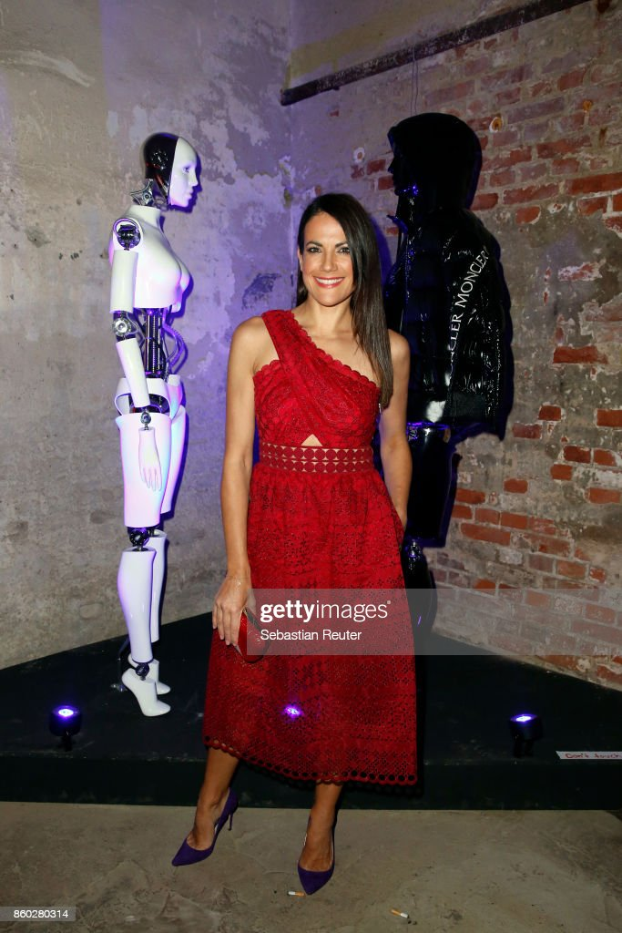 Bettina Zimmermann attends the Moncler X Stylebop.com launch event at the Musikbrauerei on October 11, 2017 in Berlin, Germany.