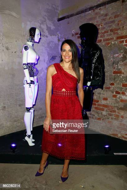 Bettina Zimmermann attends the Moncler X Stylebopcom launch event at the Musikbrauerei on October 11 2017 in Berlin Germany