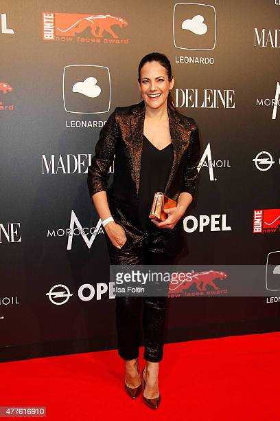 Bettina Zimmermann attends the New Faces Award Film 2015 at ewerk on June 18 2015 in Berlin Germany