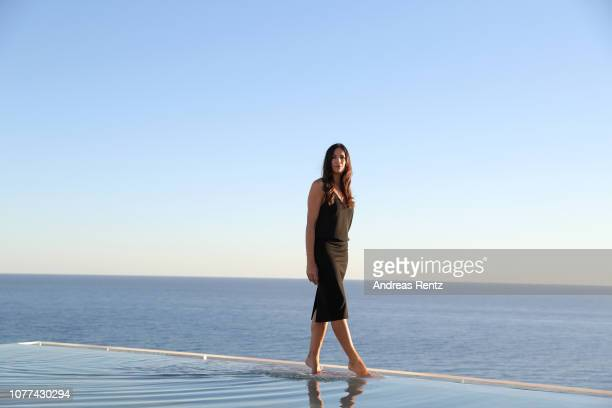 Bettina Zimmermann attends the reopening of ROBINSON Club Jandia Playa on December 04 2018 in Fuerteventura Spain