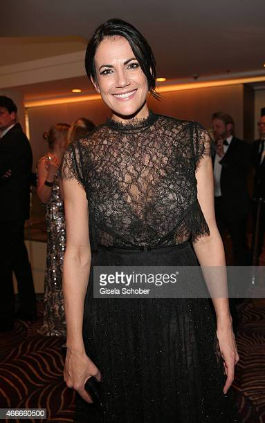 Bettina Zimmermann during the PEOPLE Magazine Germany launch party at Waldorf Astoria on March 17 2015 in Berlin Germany