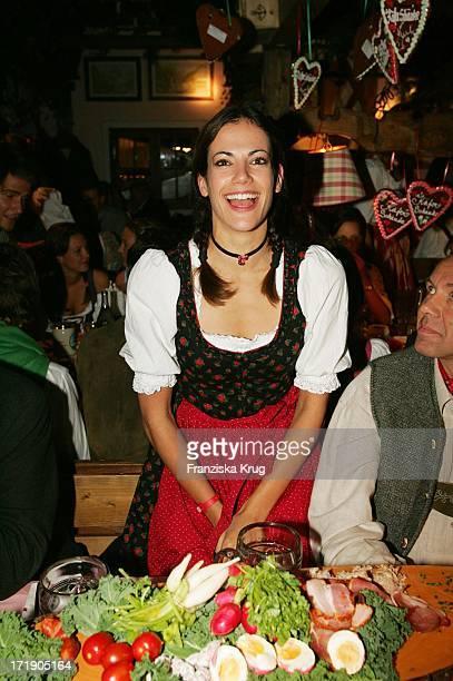 Bettina Zimmermann In Käfers Wiesnschänke Beim Münchner Oktoberfest Am 170905