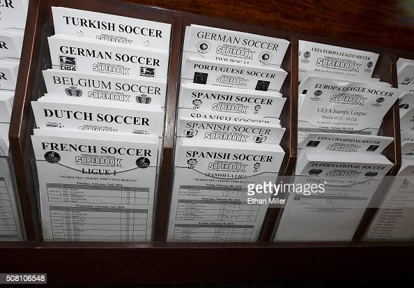Sports betting sheets bet placed on a series of events