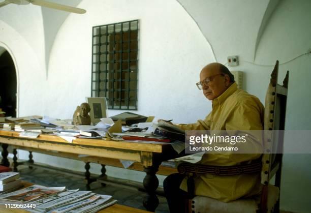 Bettino Craxi Italian politician Milan Italy July 1997