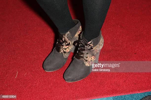 Betty Ann Golden arrives at Mondays Dark Presents 'Gone Country' benefiting Douglas J Green Memorial Foundation at Vinyl inside the Hard Rock Hotel...