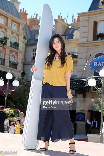 Betty Autier attends the launch of 'RatatouilleThe Adventure' at Disneyland Resort Paris on June 21 2014 in Paris France
