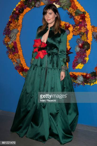 Betty Autier attends the Opening Season Gala at Opera Garnier on September 21 2017 in Paris France