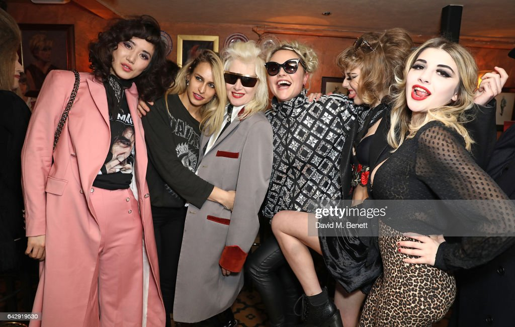 Pam Hogg - After Party - LFW February 2017 : News Photo