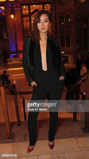 Betty Bachz arrives at The Principal Manchester for the STYLE x PRINCIPAL Party on November 3 2016 in Manchester England