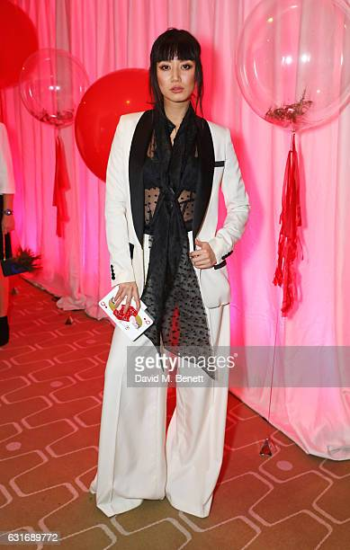 Betty Bachz attends a performance of Prokofiev's Romeo Juliet in aid of Gift Of Life at the Royal Festival Hall on January 14 2017 in London England