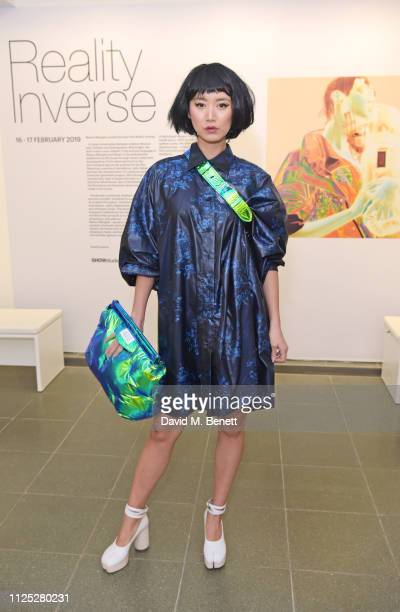 Betty Bachz attends Maison Margiela's 'Reality Inverse' screening at The Serpentine Gallery on February 16 2019 in London England