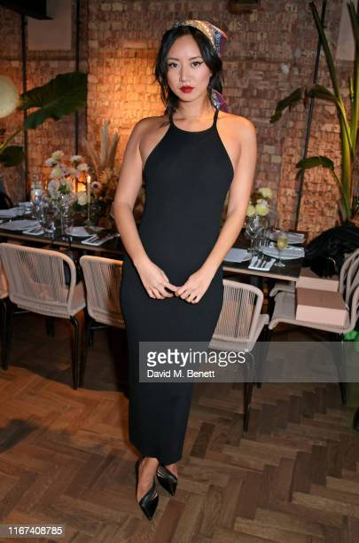 Betty Bachz attends the BEC BRIDGE Resort 20 Collection launch at Gold Notting Hill on September 11 2019 in London England