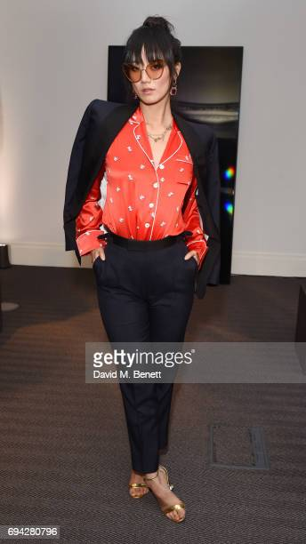 Betty Bachz attends the dunhill London presentation during the London Fashion Week Men's June 2017 collections on June 9 2017 in London England