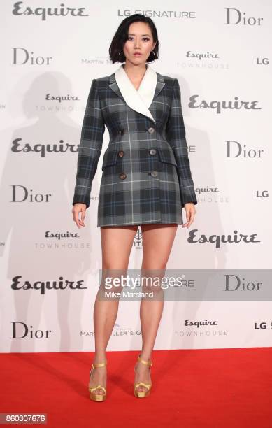 Betty Bachz attends the Esquire Townhouse with Dior party at No 11 Carlton House Terrace on October 11 2017 in London England
