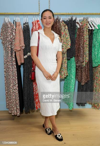 Betty Bachz attends the RIXO store opening in Marylebone on July 21, 2021 in London, England.
