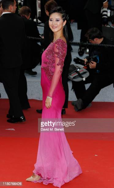 Betty Bachz attends the screening of Once Upon A Time In Hollywood during the 72nd annual Cannes Film Festival on May 21 2019 in Cannes France