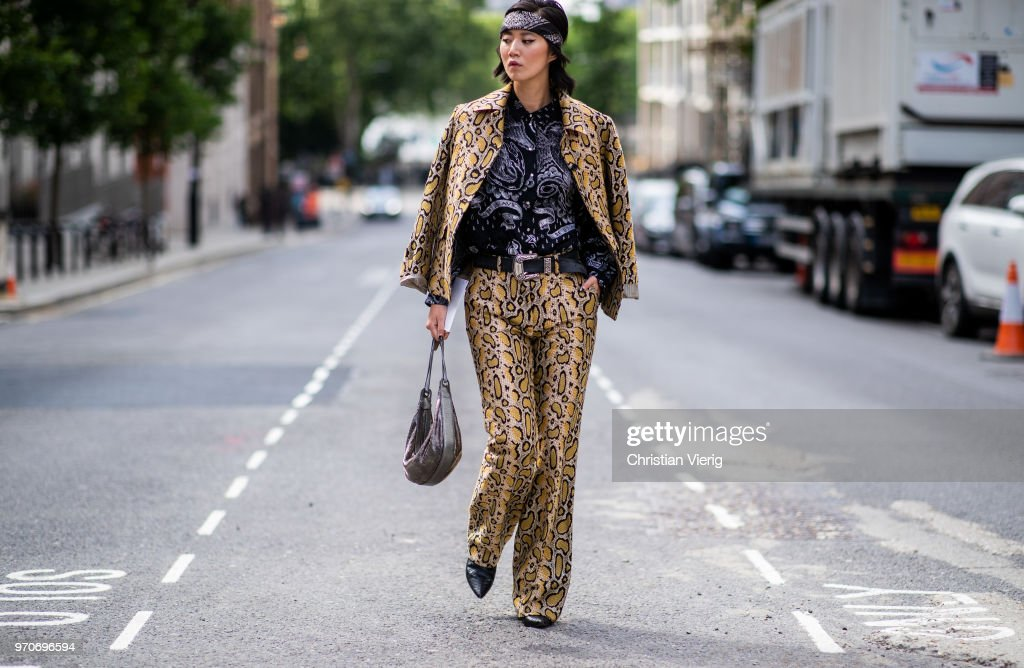 Street Style - LFWM June 2018 : News Photo