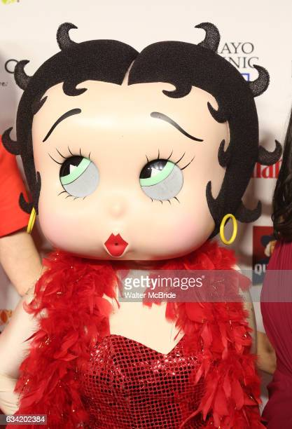 Betty Boop attends the 14th Annual Red Dress Awards presented by Woman's Day Magazine at Jazz at Lincoln Center Appel Room on February 7 2017 in New...
