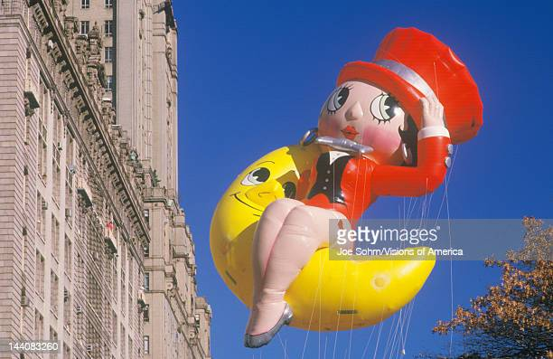Betty Boop Balloon in Macy's Thanksgiving Day Parade, New York City, New York
