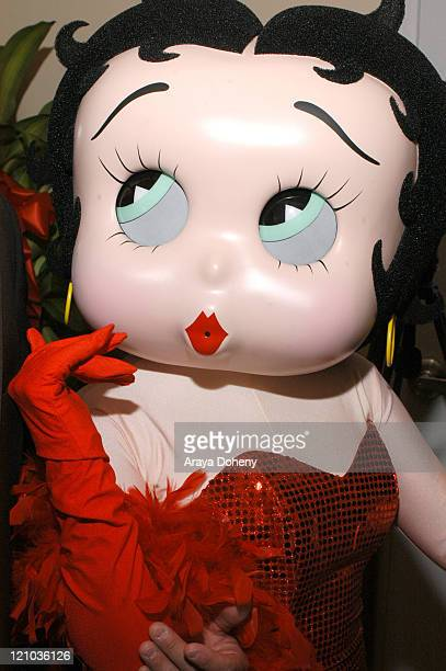 Betty Boop during First Betty Boop's Diner Opens in San Francisco in San Francisco CA United States