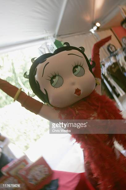Betty Boop during Silver Spoon Golden Globes Hollywood Buffet - Day 2 at Private Residence in Beverly Hills, California, United States.