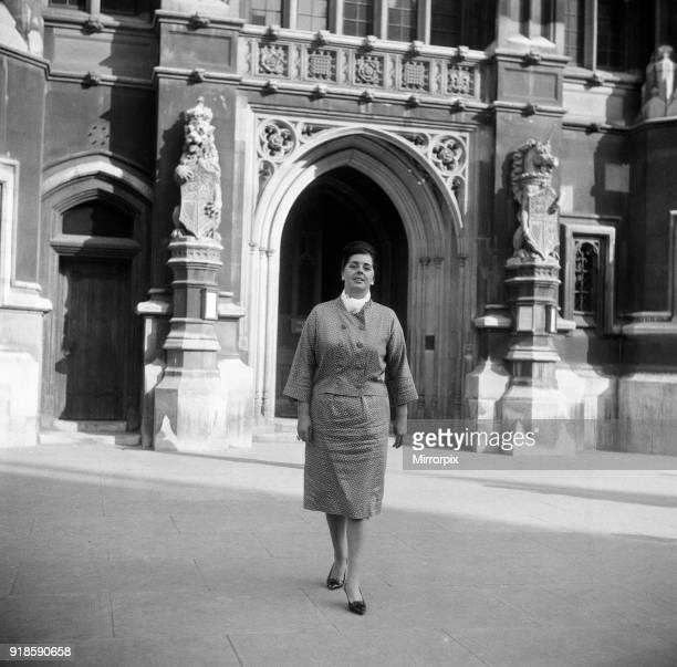 Betty Boothroyd 13th September 1960