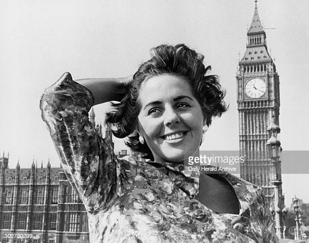 Betty Boothroyd smiling near Big Ben England 1959 Betty Boothroyd smiling near Big Ben 13 September 1959 Taken whilst Betty Boothroyd was Labour...