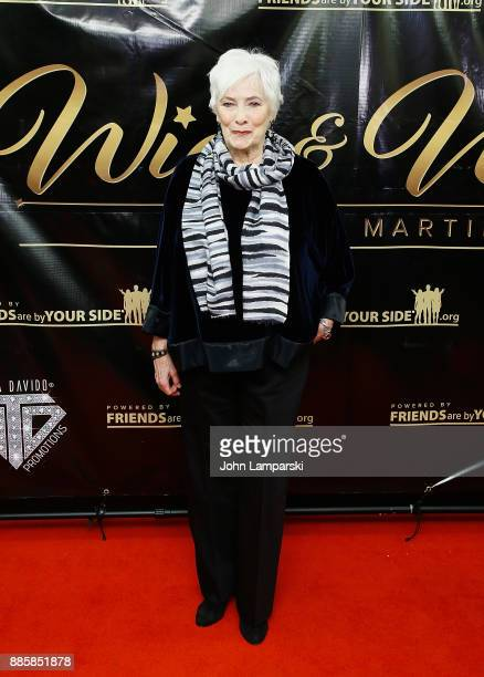 Betty Buckley attends the 2017 One Night With The Stars benefit at the Theater at Madison Square Garden on December 4 2017 in New York City