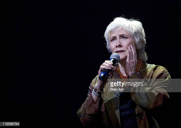 Betty Buckley during Broadway Backwards to Benefit the Lesbian Gay Bisexual and Transgender Community Center at 37 Arts in New York City New York...