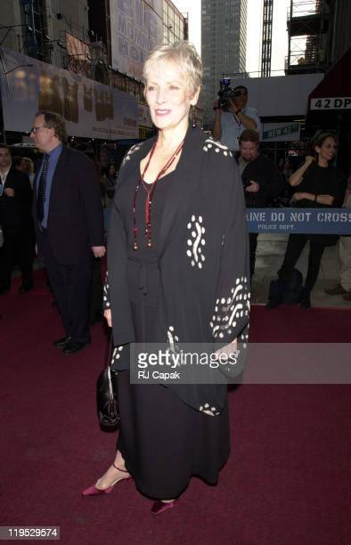 Betty Buckley during Jesus Christ Superstar Play Premiere at Ford Center for the Performing Arts in New York City New York United States