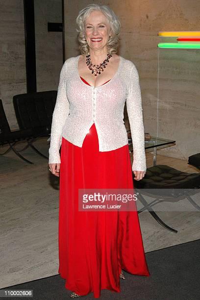 Betty Buckley during The AllStar Stephen Sondheim 75th Birthday Celebration Children and Art at Four Seasons Restaurant in New York City New York...