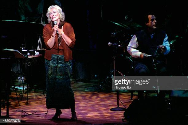 Betty Buckley performing at Alice Tully Hall on September 19 2001This imageFrom left Betty Buckley and Jamey Haddad