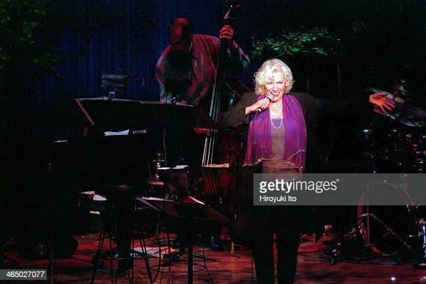 Betty Buckley performing at Alice Tully Hall on September 19 2001This imageFrom left Tony Marino and Betty Buckley