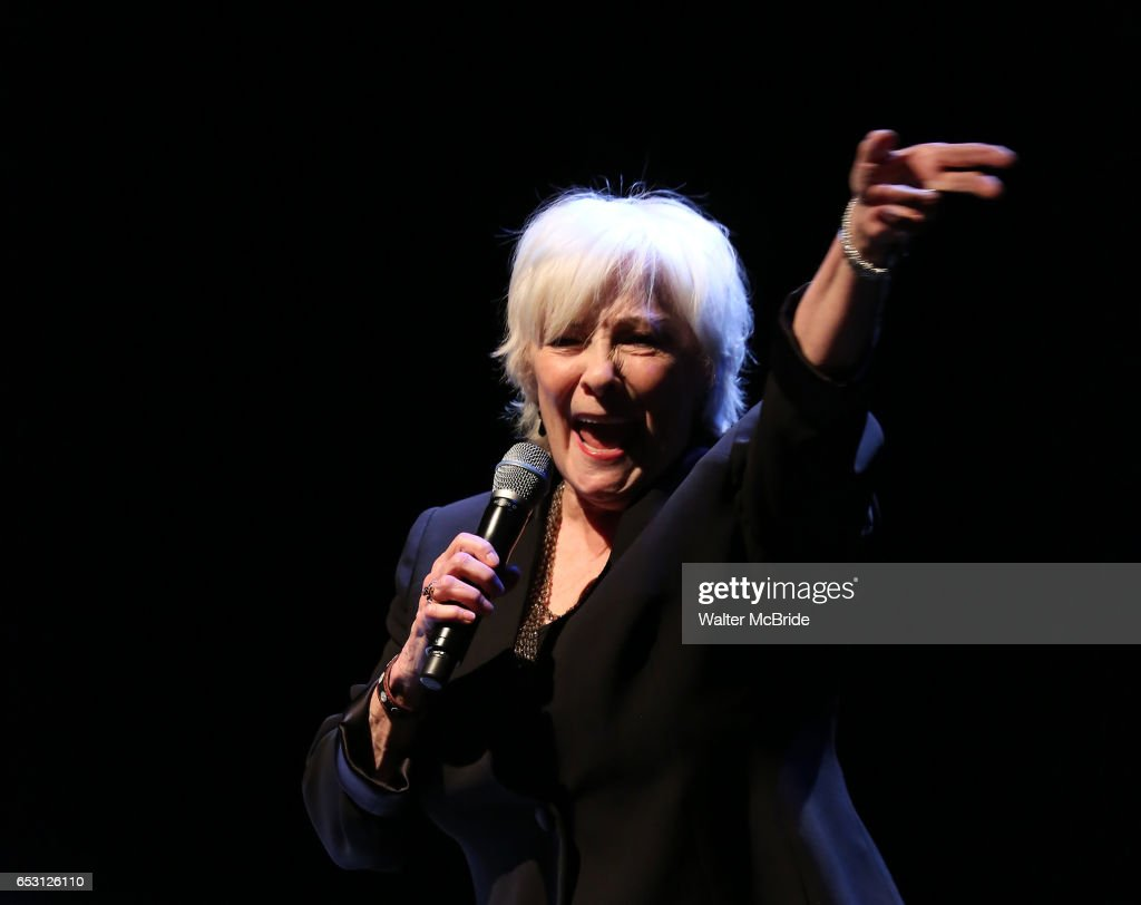 Betty Buckley performing at the Vineyard Theatre 2017 Gala at the Edison Ballroom on March 13, 2017 in New York City.