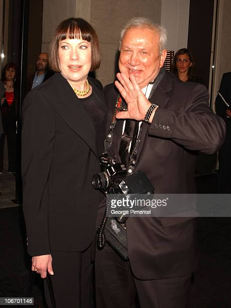 Betty Burke and Ron Galella during Tom Ford Hosts a Party For Renowned Celebrity Photographer Ron Galella And His New Book at Gucci /Radeo Drive in...