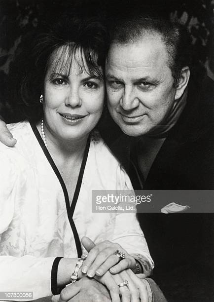 Betty Burke Galella and Ron Galella during Ron Galella and Betty Burke Gallela Portrait Session at Their Montville Home April 19 1992 at Galella's...