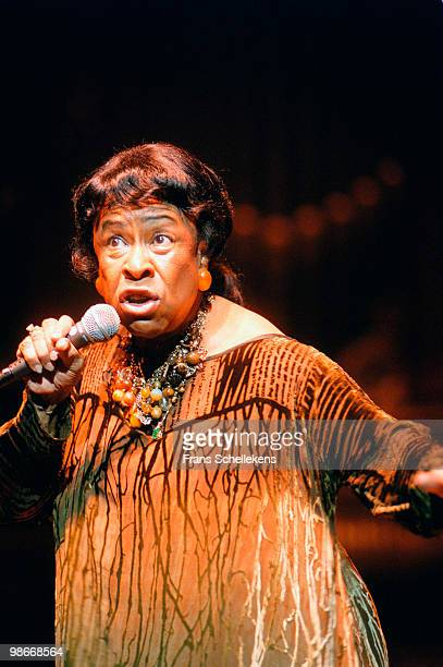 Betty Carter performs live at Concertgebouw in Amsterdam, Netherlands on October 06 1997