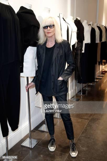 Betty Catroux attends Lili et Mimi sont au Premier at Montaigne Market on June 26 2018 in Paris France
