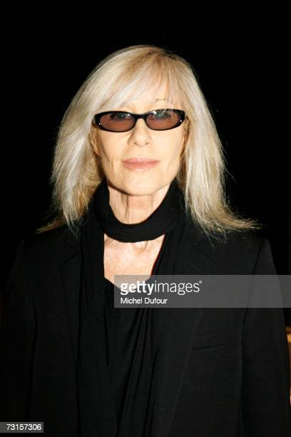 Betty Catroux attends the Dior Men Fashion Show Autumn Winter 07 08 on January 30 2007 in Paris France