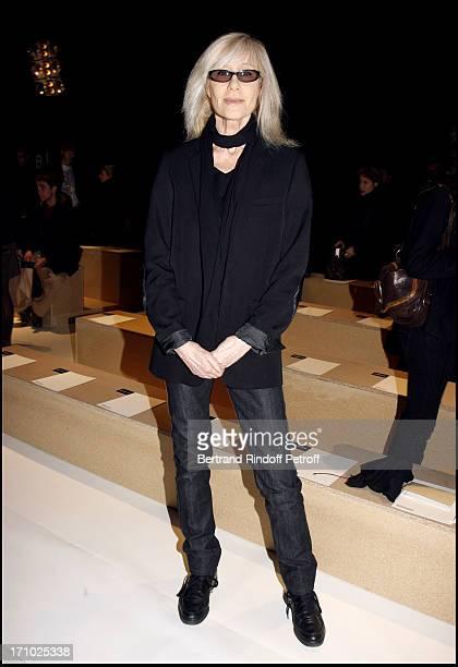 Betty Catroux Dior masculine fashion show fall winter 20072008