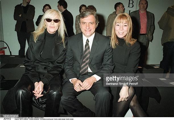 Betty Catroux Sydner Toledano Victoire De Castelanne man fashion Dior in Paris