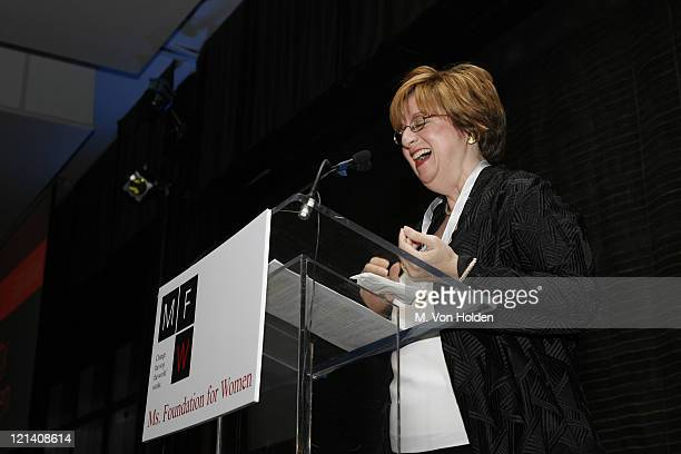 Betty Cohen during Ms Foundation for Women's 18th Annual Gloria Awards at Mandarin Hotel in New York NY United States