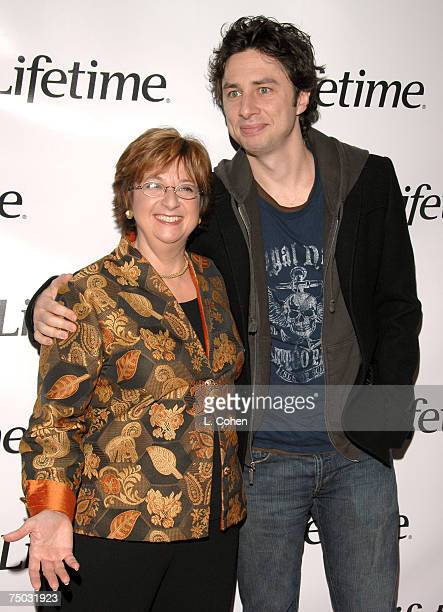 Betty Cohen, Lifetime President and CEO and Zach Braff